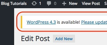 How To Update Your WordPress Blog